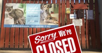 Wir haben wegen Corona geschlossen!