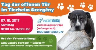 Tag der Offenen Tür im Tierheim Szergény