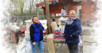 Spendenfahrt der Sonnenzwerge aus Österreich :)