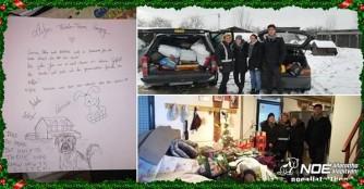 Weihnachtsspenden für das NOÉ Tierheim in Szergény