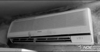 Nekrolog an die Klimaanlage unserer Krankenabteilung, oder auf der Suche nach neuer Arbeitskraft zum Kühlen und Heizen!